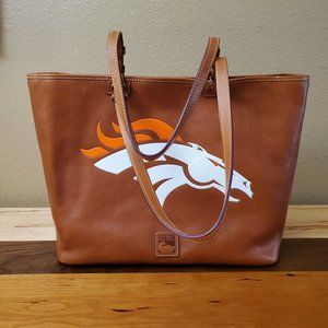 Dooney & Bourke leather tote shoulder bag